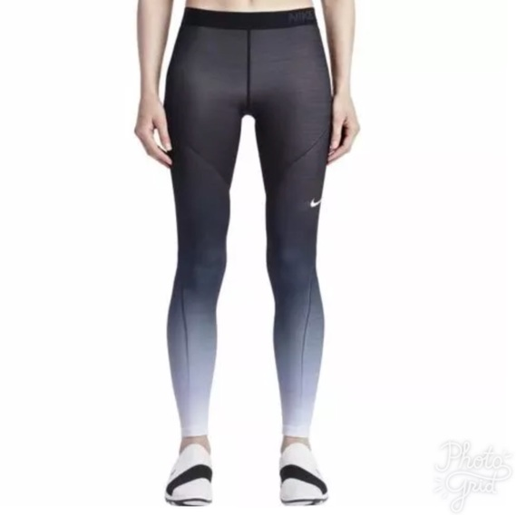 online retailer ea512 1477a Nike Pro Hyperwarm Ombré Pants Tights Leggings LG.  M5b6389a01070ee120c6f0603